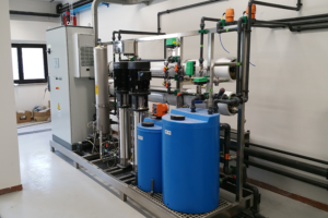 impianti skid depurazione acque