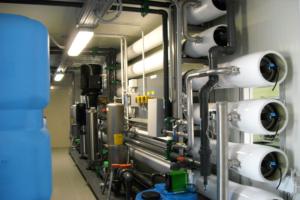 impianti trattamento acque skid