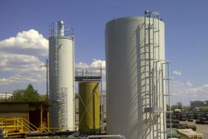 stoccaggio impianti chimici