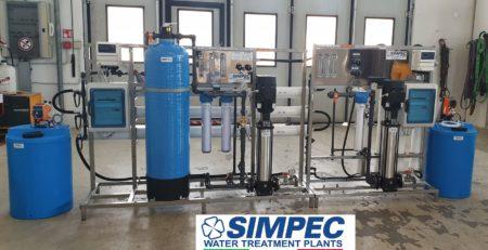 Impianto ad osmosi inversa doppio passo